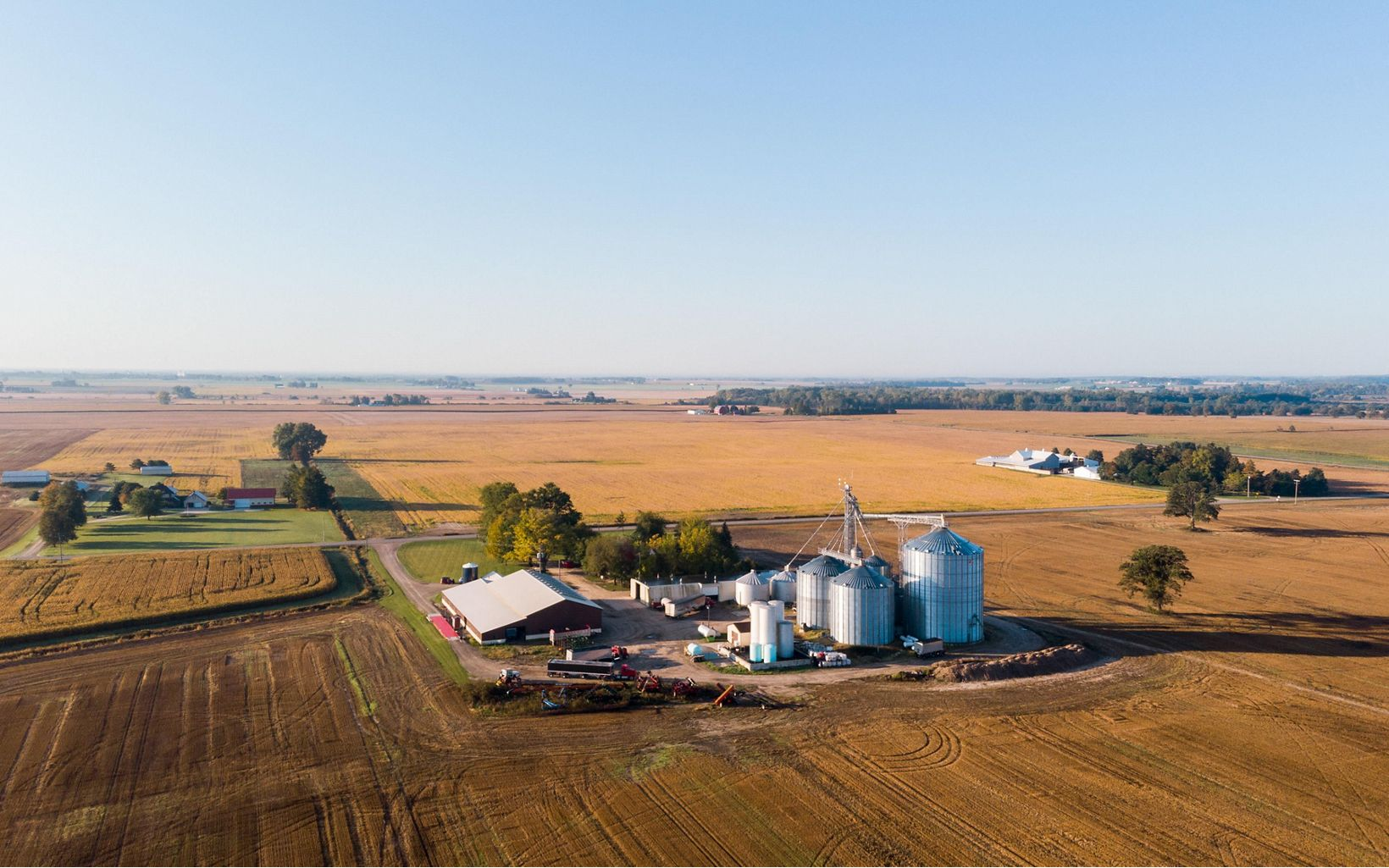 Agriculture is essential to Saginaw Bay communities. It helps to boost the economy, jobs, and people's livelihoods.
