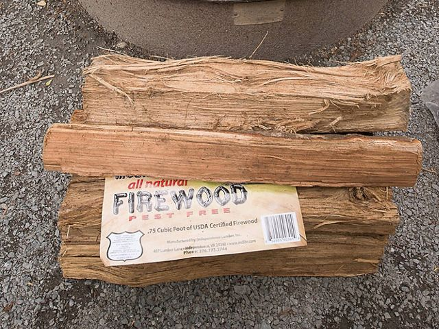 Using certified, heat-treated firewood prevents the spread of invasive, tree-killing pests.