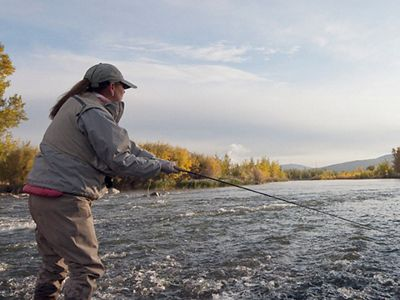 Flyfishing at McCarran Ranch Preserve on the Truckee Ri