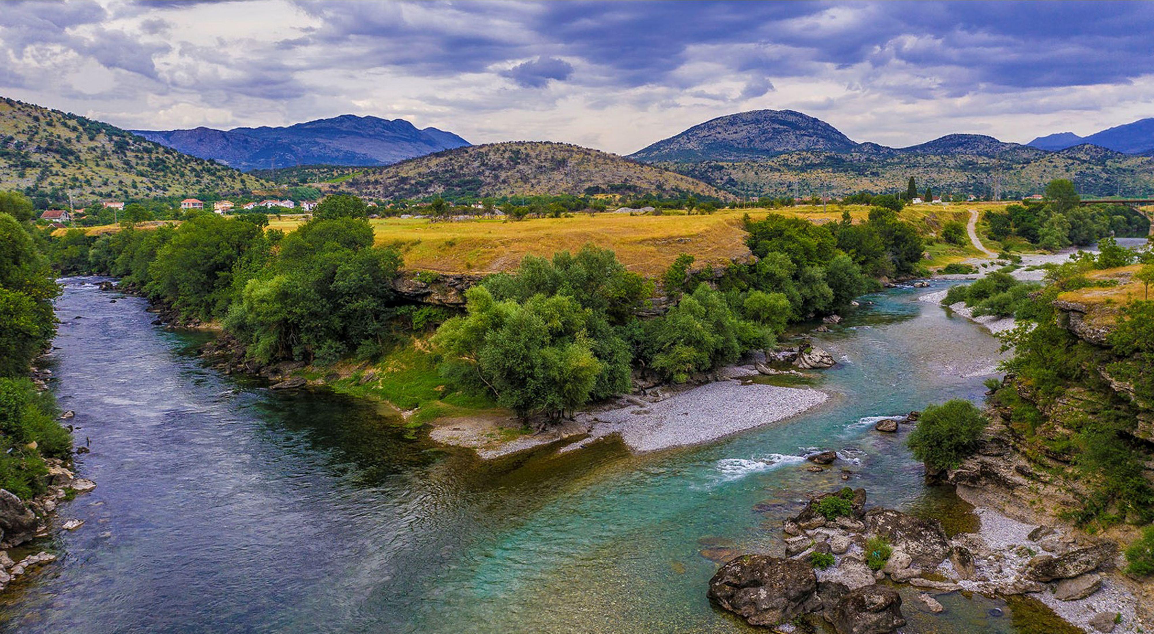 River confluence