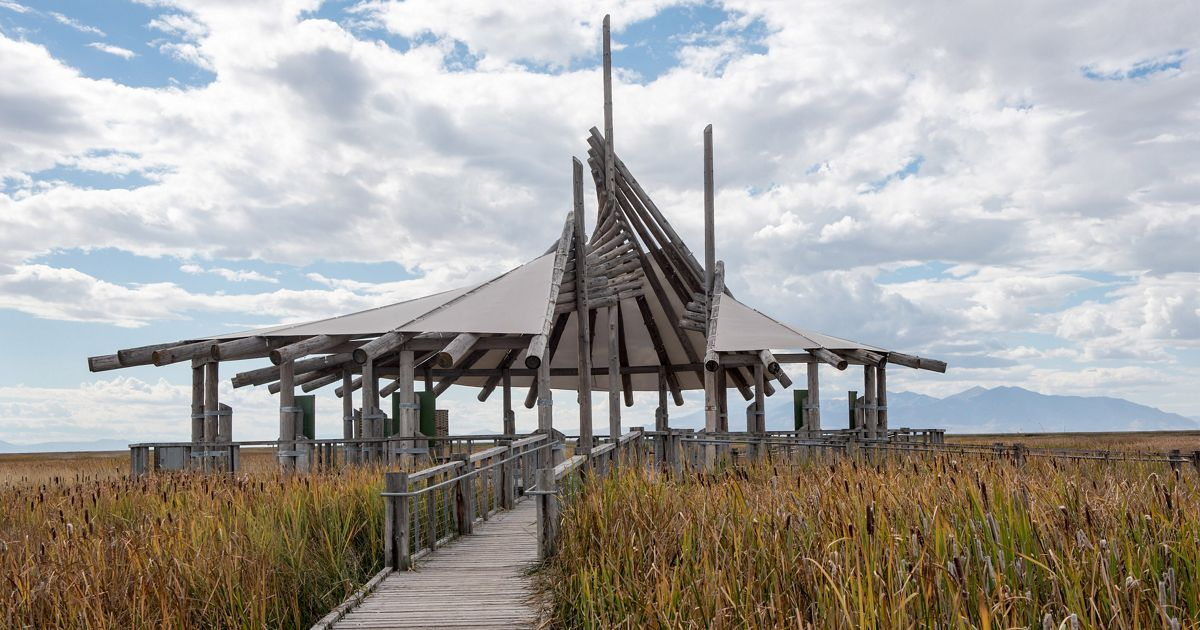 Great Salt Lakes Shorelands Preserve Visitor Center