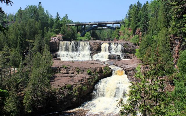 Rivers on the North Shore, like the one found at Gooseberry Falls State Park, depend on healthy forests to maintain water quality.