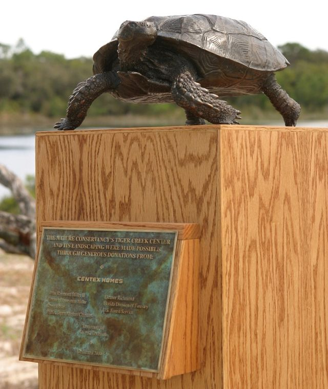 Gopher Tortoise Plaque
