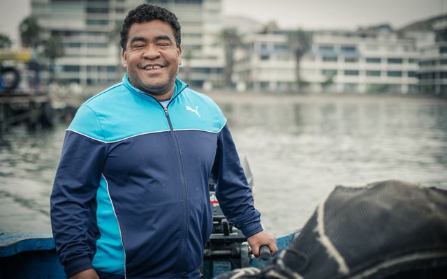 Hector Samillan, a fisher from Ancon, Peru.