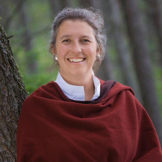 Executive portrait of The Nature Conservancy's State of Michigan Director, Helen Taylor. Photographed in The Two Hearted River watershed, Michigan's Upper Peninsula.