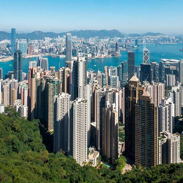 香港的天際線