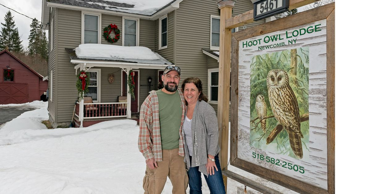 The Hoot Owl Lodge received a recreation grant from The Nature Conservancy.