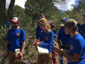 Rocky Mountain Youth Corps in New Mexico.
