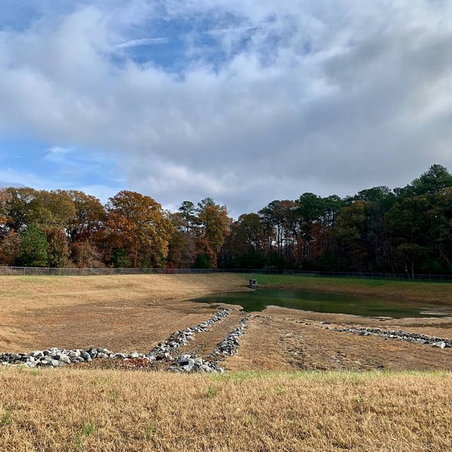 A project to retrofit Chesapeake Bay watershed retention ponds with new technology will allow for water retention and release to be controlled remotely.