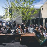 Remnant Brewing outdoor space