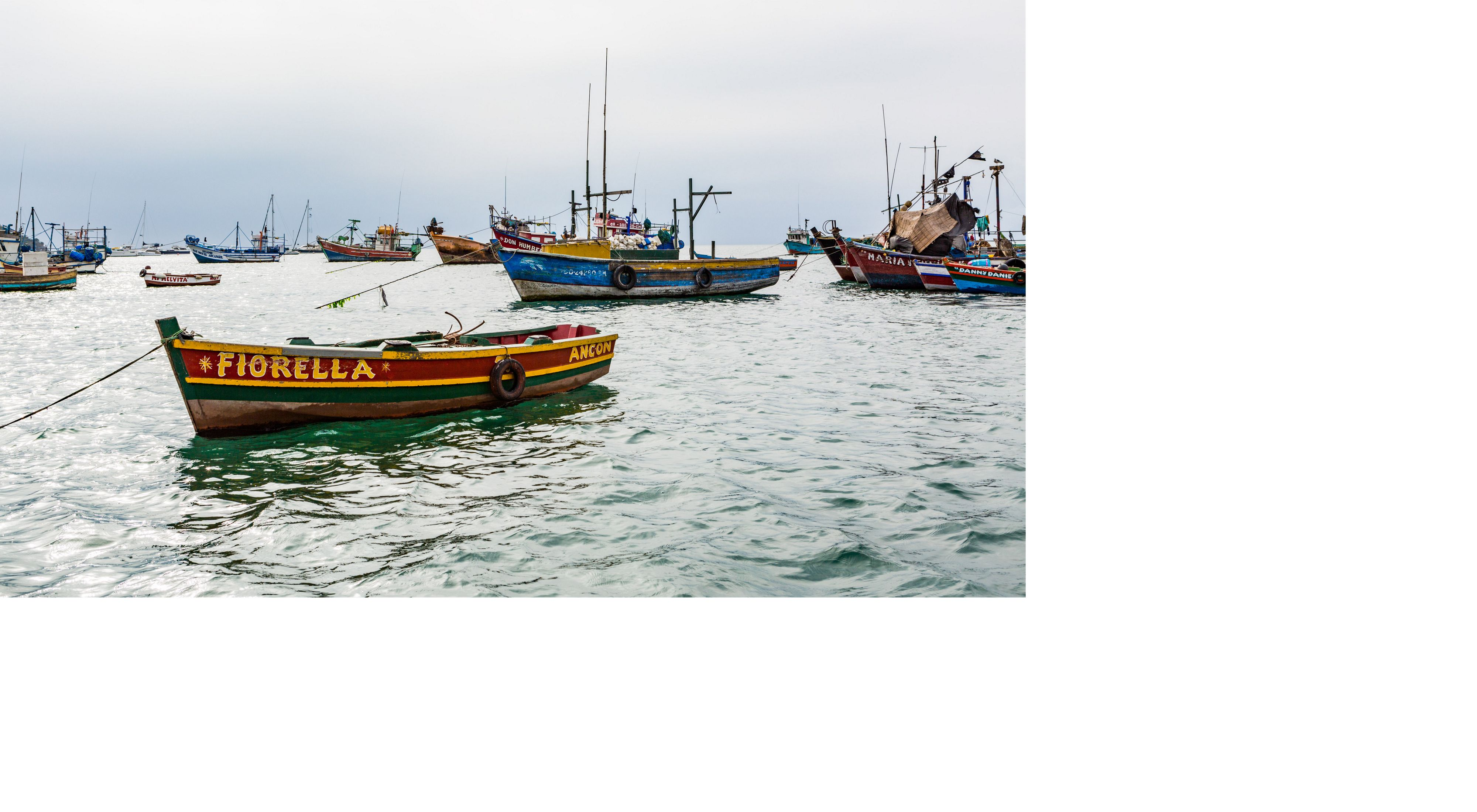 Ancon on the coast of central Peru has agreed to adopt science-based measures that have led to better catches.