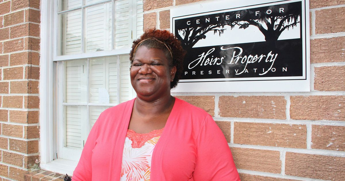 Executive director of the Center for Heirs' Property Preservation.