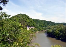 The Kentucky River Palisades