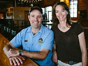 KettleHouse Brewing founders Tim O'Leary and Suzy Rizza