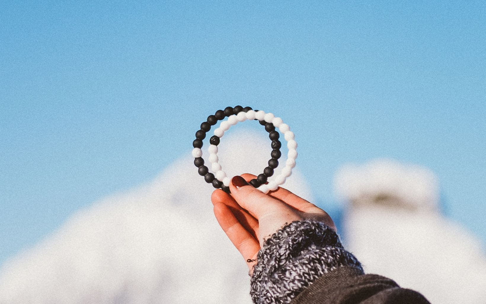 Lokai Black & White Bracelets to help The Nature Conservancy.