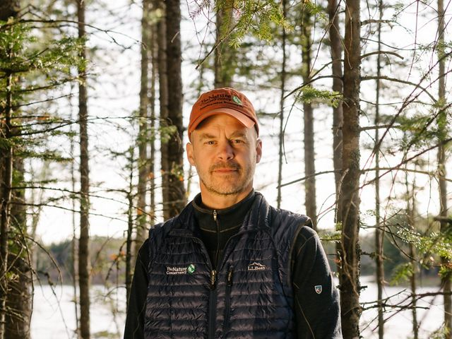 Mark is the Forest Program Manager for The Nature Conservancy in Maine.