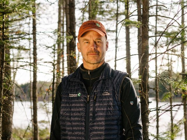 Mark Berry, TNC in Maine's Forest Program Manager.