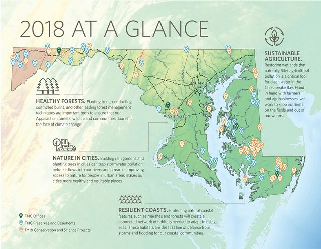 See where our work is making an impact for people and nature in Maryland and Washington, D.C.