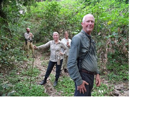 Trustees of The Nature Conservancy in Missouri on a chimp trek in Tanzania.