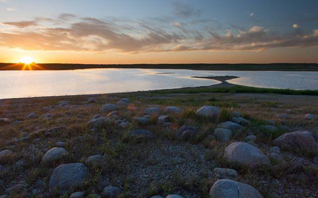 Alkaline lakes