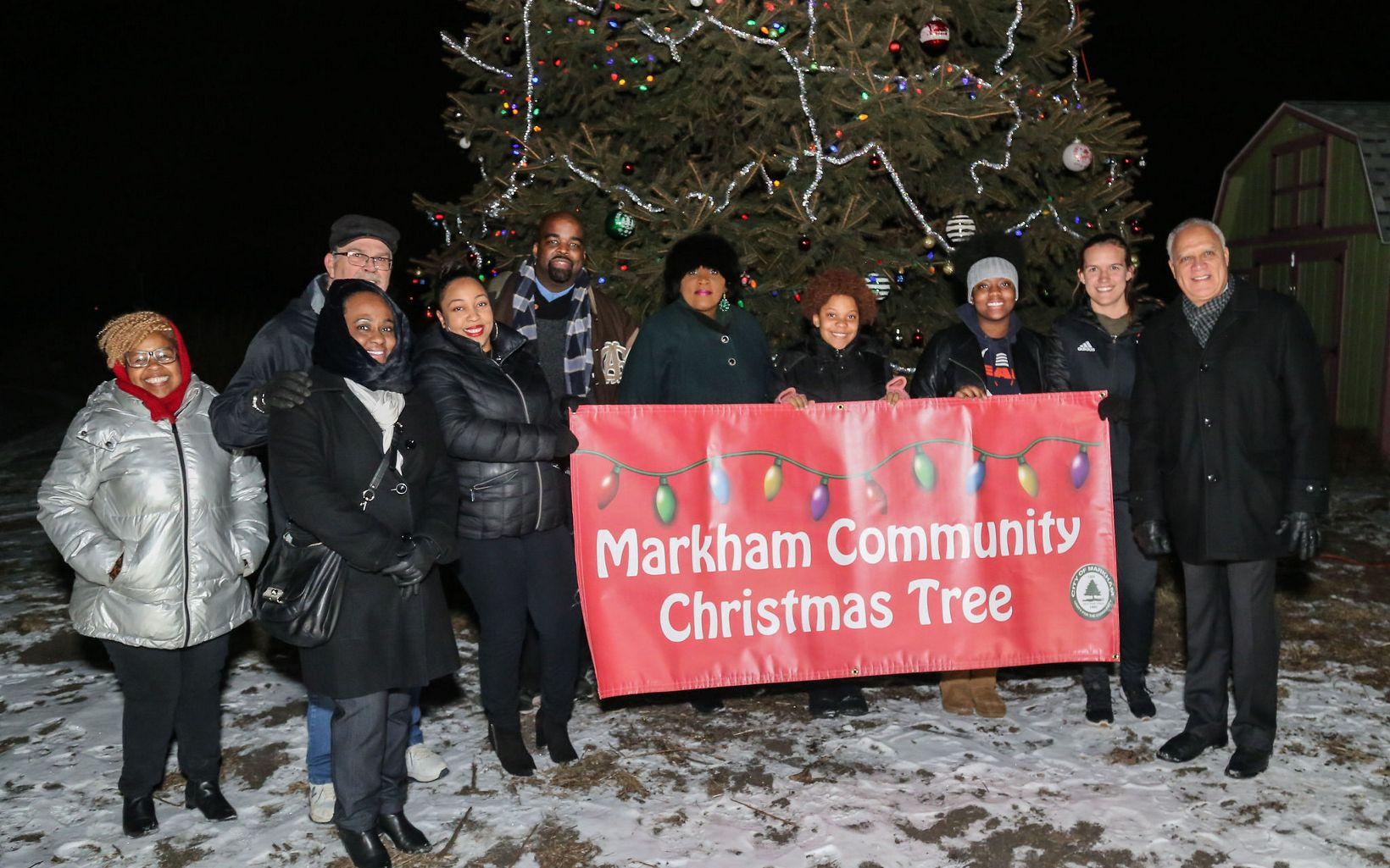 Markham Community Christmas Tree Lighting