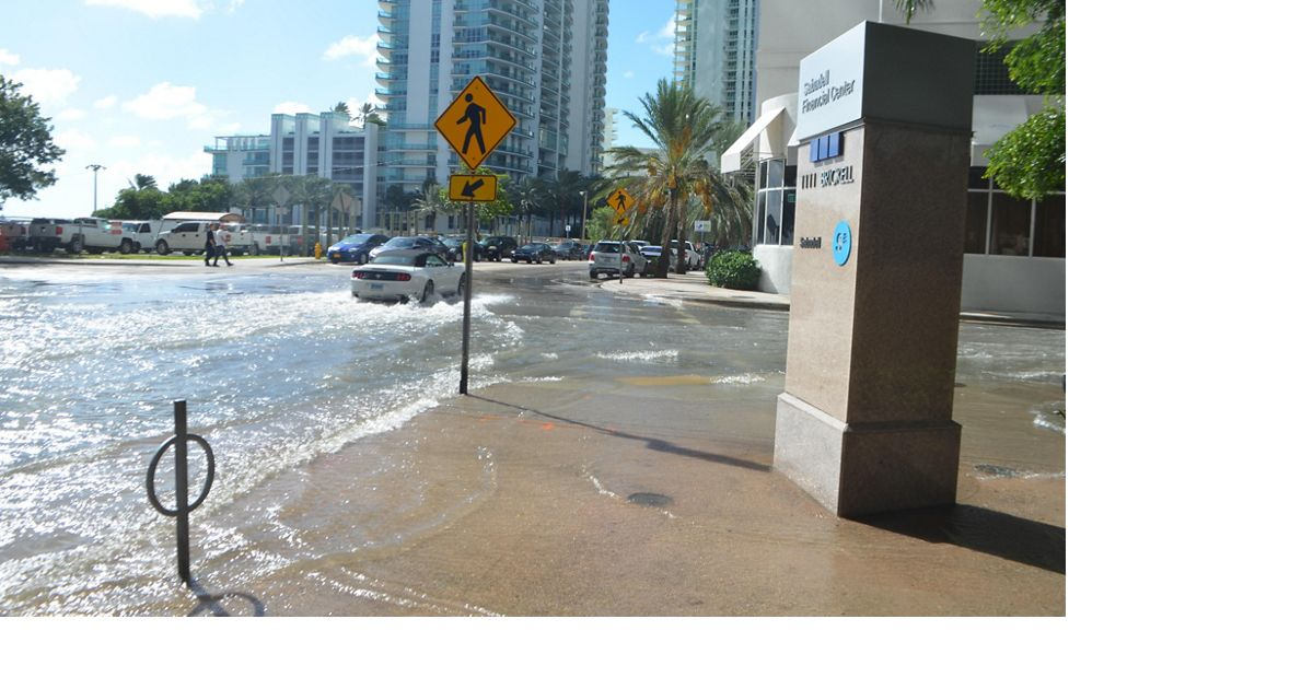 Sunny Day Flooding in Miami