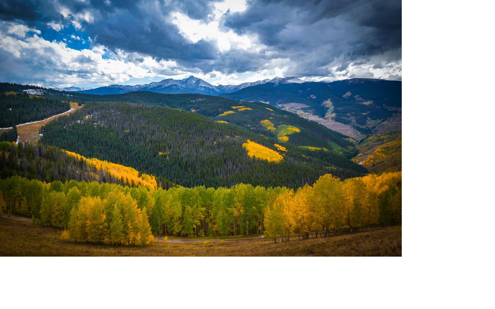 Mount of the Holy Cross in the Sawatch Range near Vail, CO.
