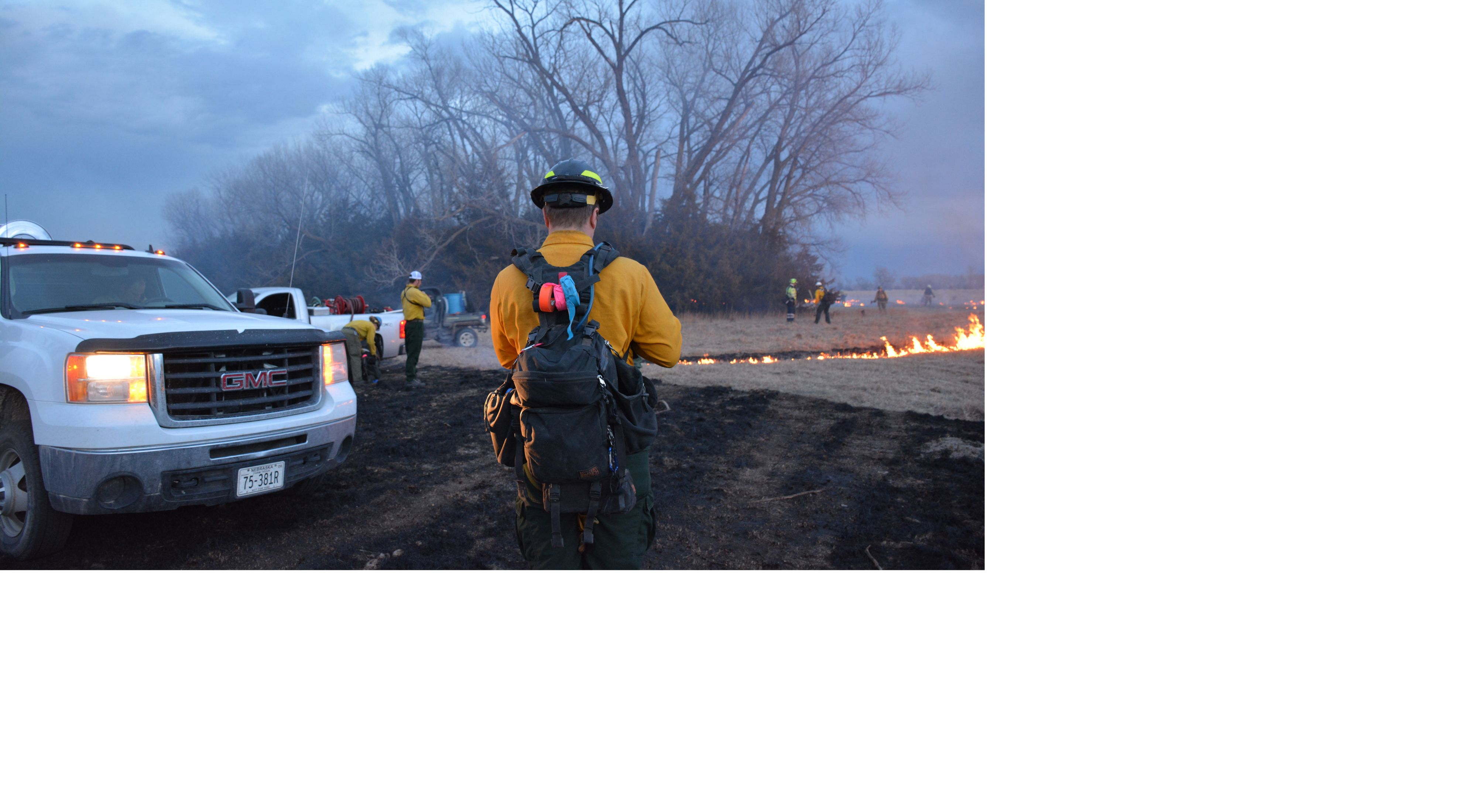 Annual Fire Training Exchange at the Niobrara Valley Preserve in Nebraska.