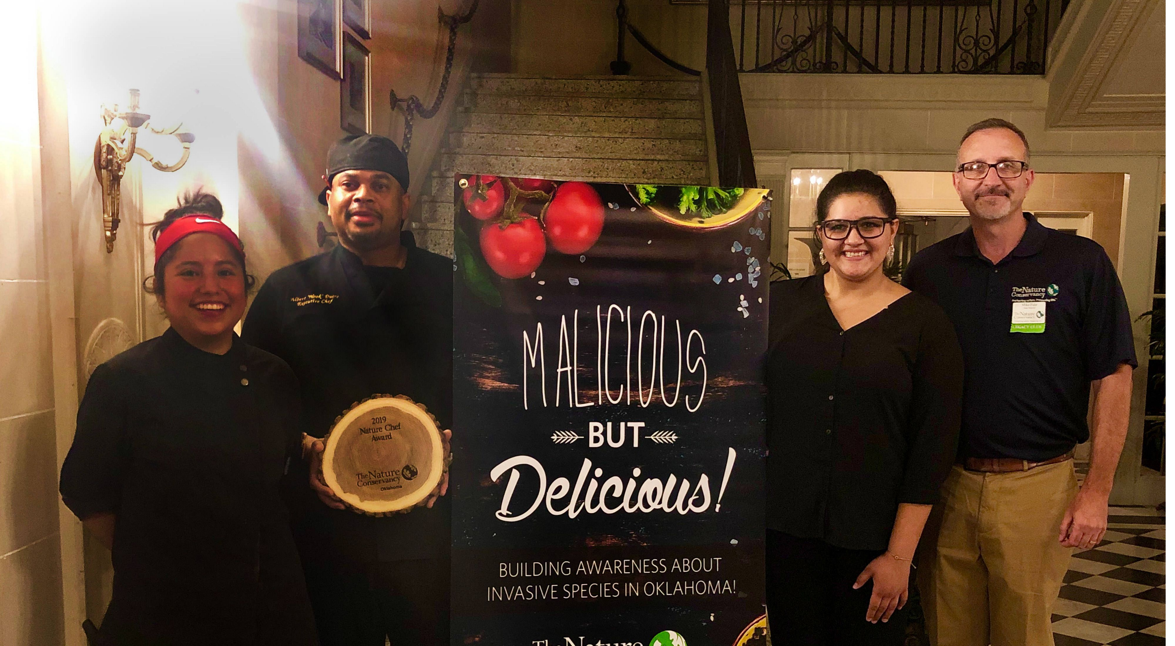 "Chef Albert ""Nook"" Ducre takes home Nature Chef title from Malicious But Delicious."