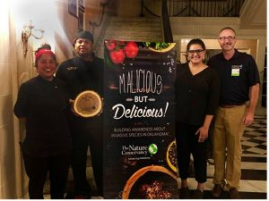 """Chef Albert """"Nook"""" Ducre takes home Nature Chef title from Malicious But Delicious."""