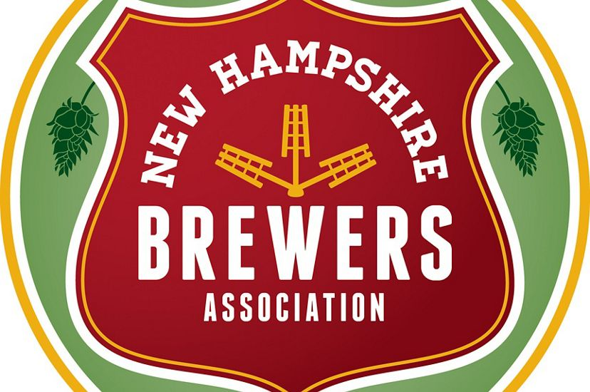 A red and green logo that says New Hampshire Brewer's Association.