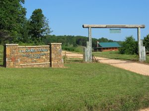 Entrance to the J.T. Nickel Family Nature and Wildlife Preserve