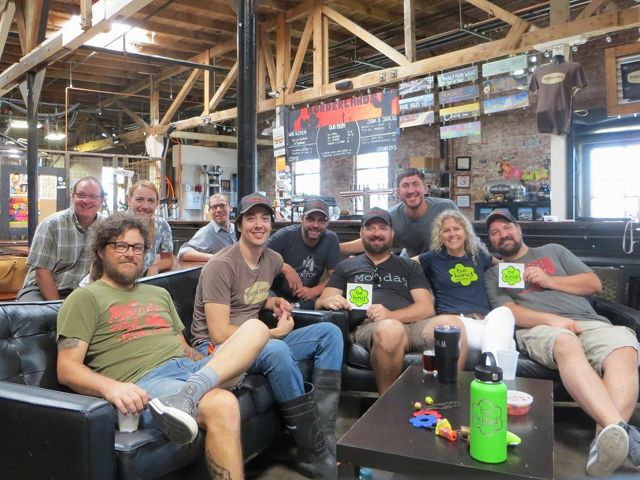 The Brew Crew at Borderlands