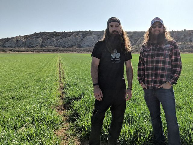 Jonathan Buford and Patrick Ware, owners of Arizona Wilderness Brewing Co.