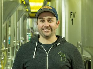 Shorts Brewing's Tyler Glaze