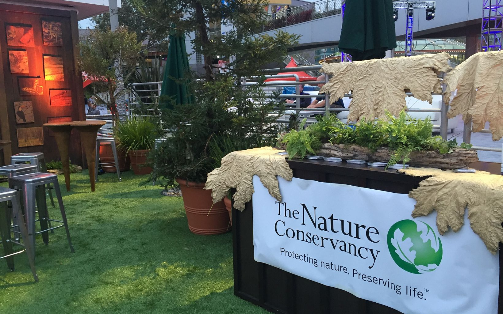 Nature Conservancy Booth at Oracle Open World