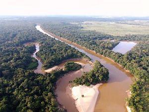 Cuencas hidrográficas que pasan por el Parque Nacional Manacacías de camino a la macrocuenca del Orinoco.