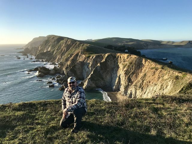 There's a great hike at Chimney Rock in Point Reyes National Seashore. The sounds of wheeling gulls and barking elephant seals are the backdrop to amazing views.