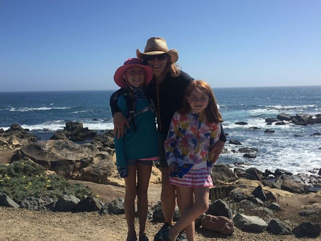 My daughters, Maya and Sierra, love exploring tidepools at Salt Point State Park. The park is one of our favorite summer camping spots in Northern California.