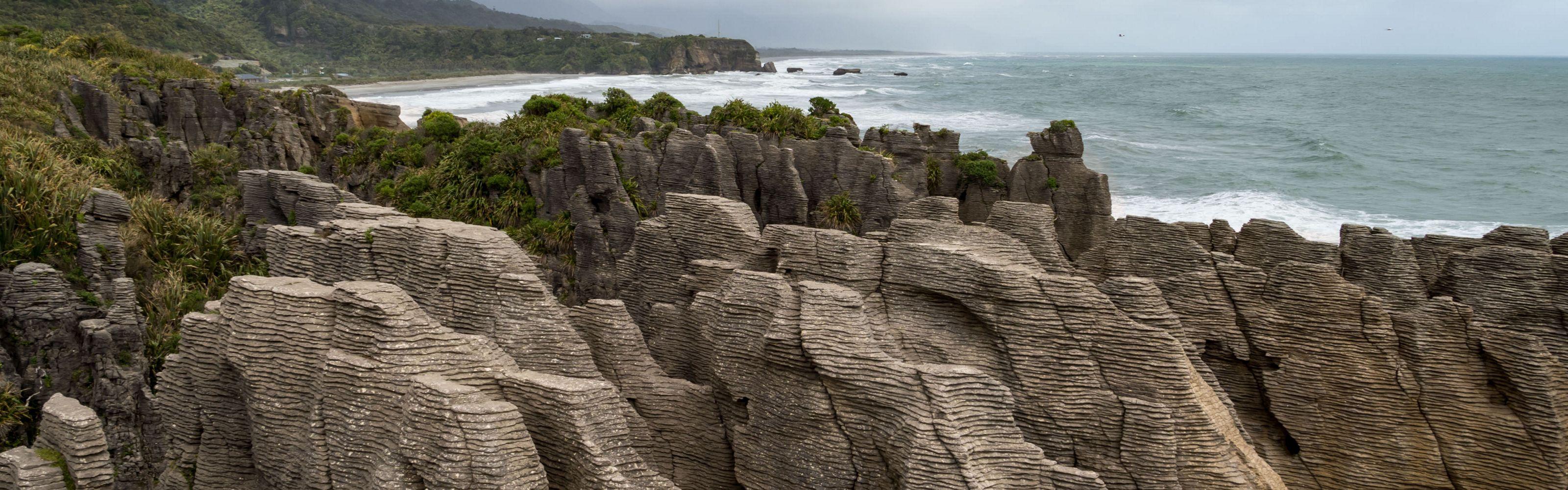 on the west coast of New Zealand.
