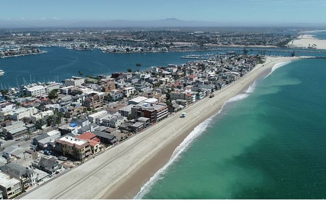 Peninsula area in Long Beach, California