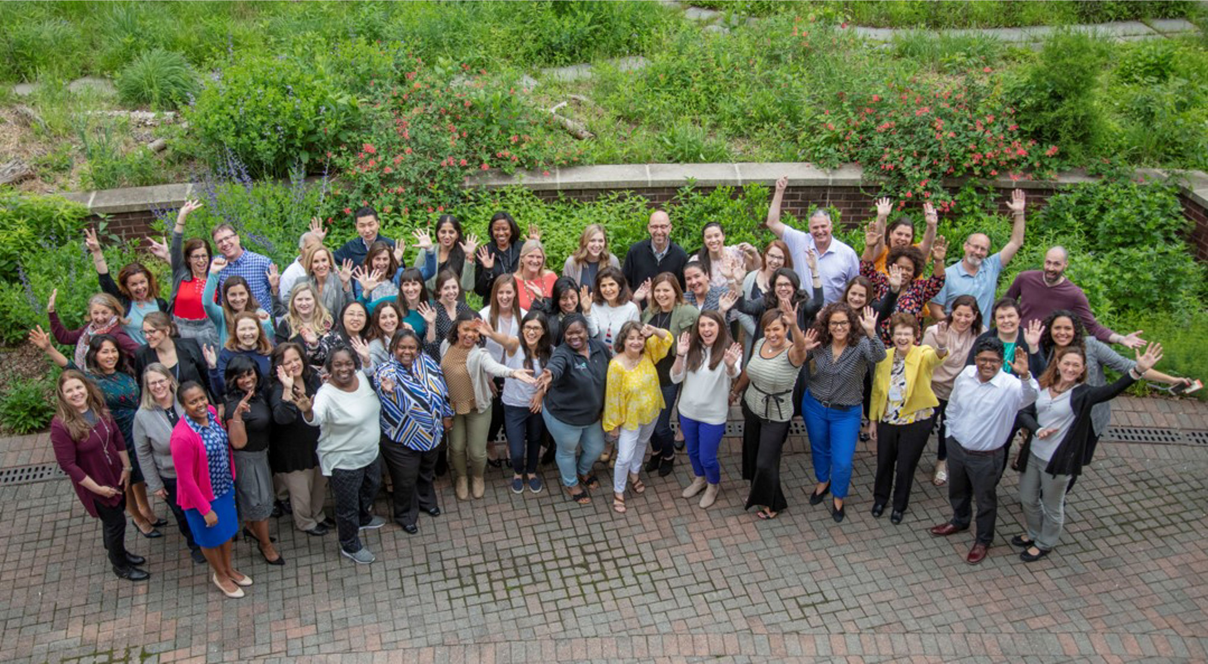 Group photo of the 2019 People Team Retreat The Nature Conservancy's World Office in Arlington, Virginia.