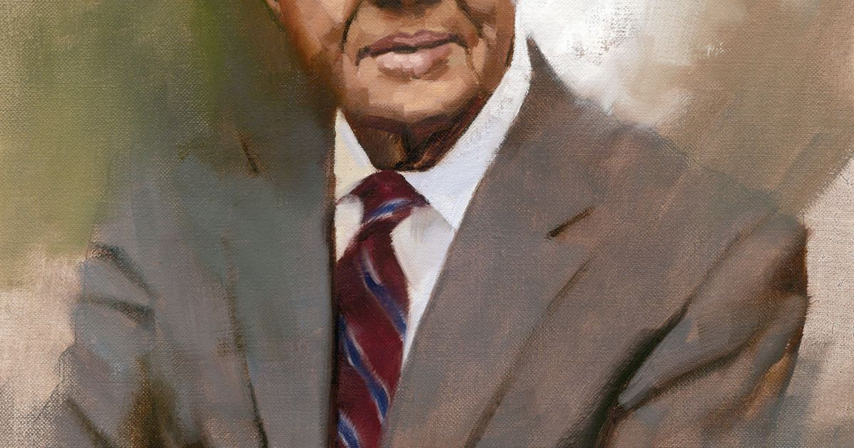 A portrait of Jimmy Carter