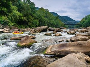 Rafting New River Gorge in West Virginia