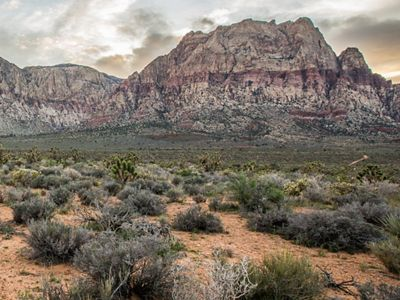 Red Rock Canyon National Conservation Area in Nevada.