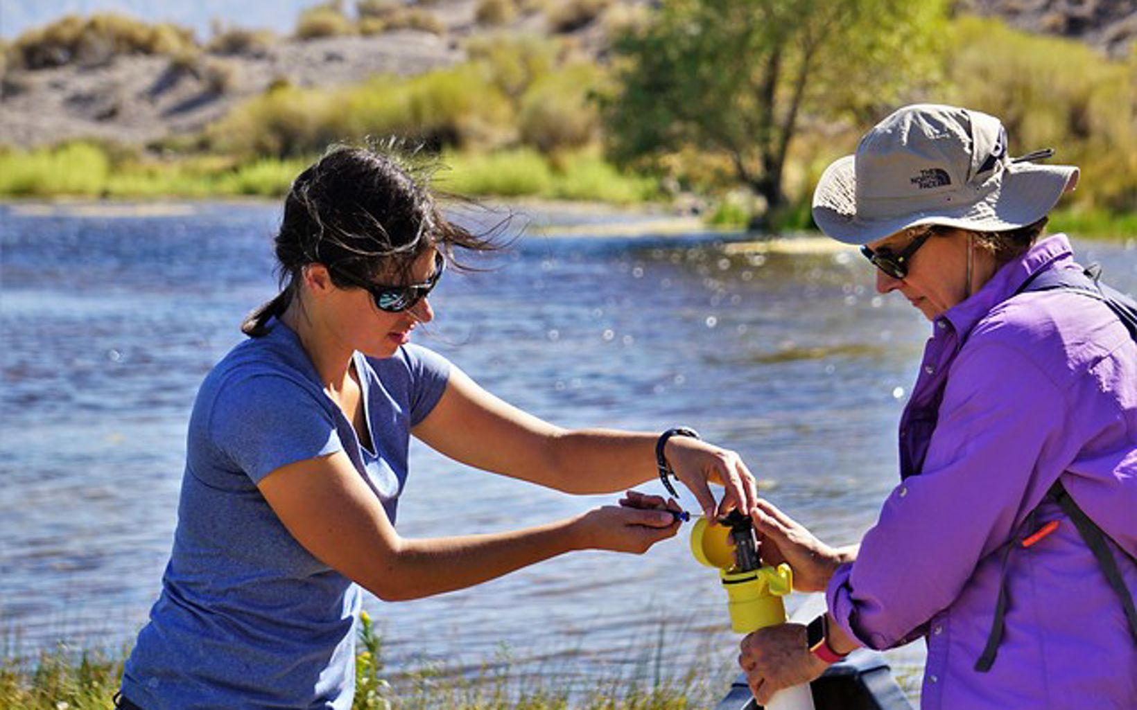 Desert Research Institute scientists launched two hydrology projects at the preserve in 2019.