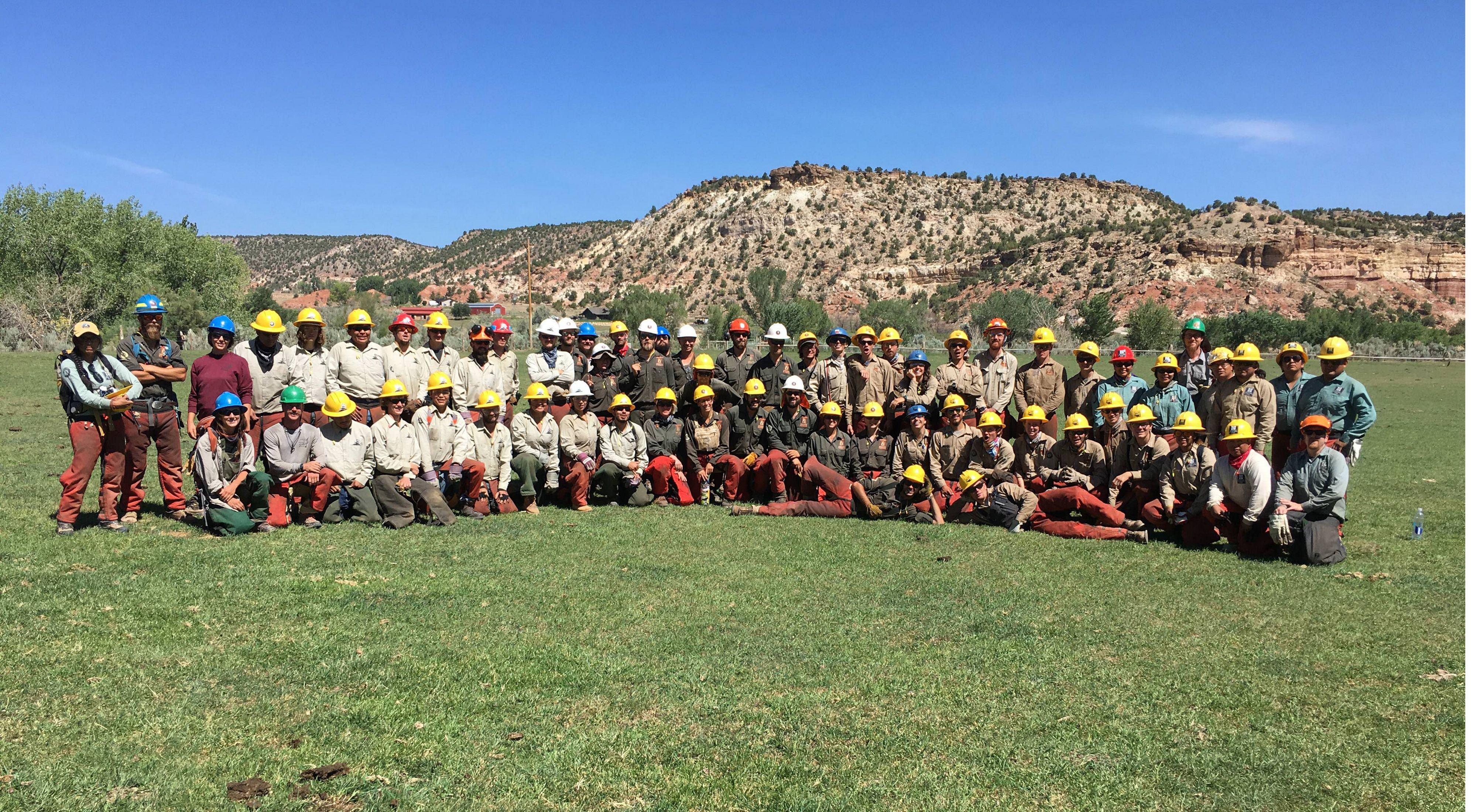 Restoration crews made up of a range of workers and volunteers manned the frontlines in the fight against invasives along the Escalante River.