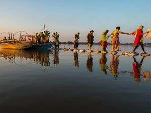 TNC India is working with partners to develop a framework for evaluating the consequences of alternative river actions on the health of the Middle Ganga