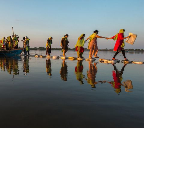 The Nature Conservancy India is working with partners to develop a framework for evaluating the consequences of alternative river actions on the health of the Middle Ganga.
