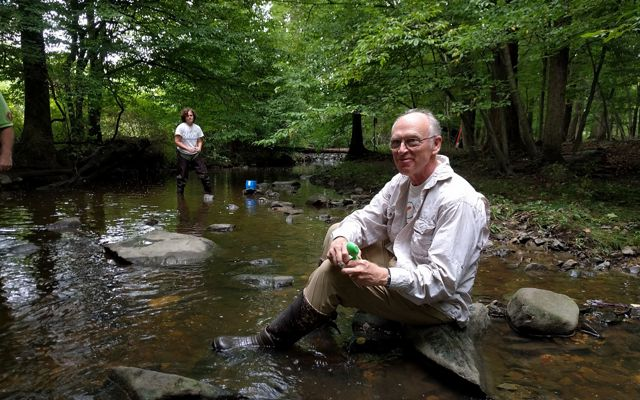 Rob Tuttle at First State National Historical Park's Beaver Valley unit